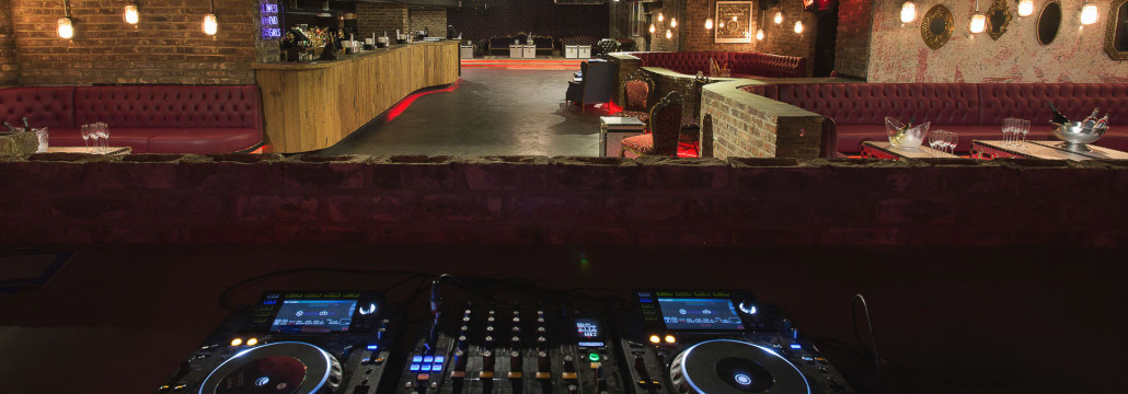 drury club dj booth