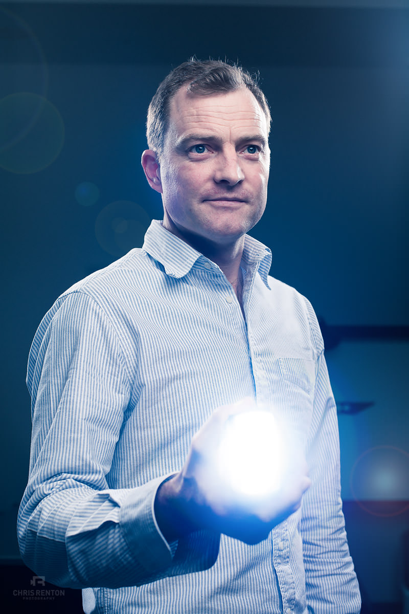 Jake Dyson Light portrait