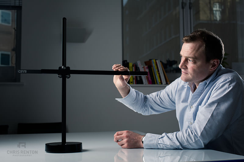Jake Dyson with CSYS Task Light