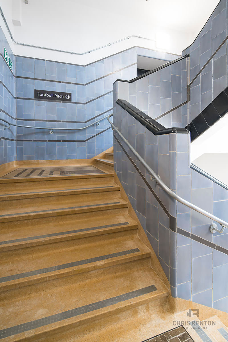 Poplar Baths London stairs